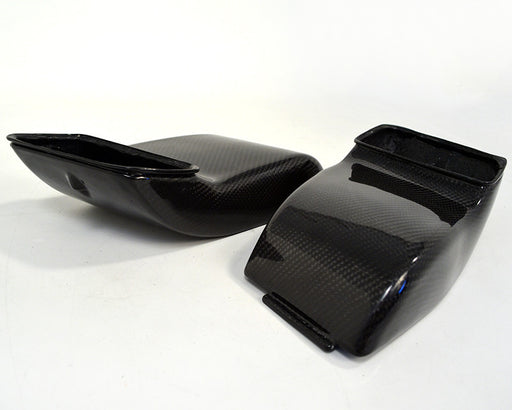 Agency Power Carbon Fiber Decklid Intake Scoops (997 Turbo) - Flat 6 Motorsports - Porsche Aftermarket Specialists