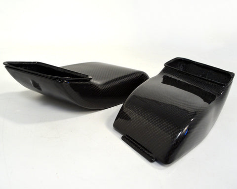 Agency Power Carbon Fiber Decklid Intake Scoops (997 Turbo)