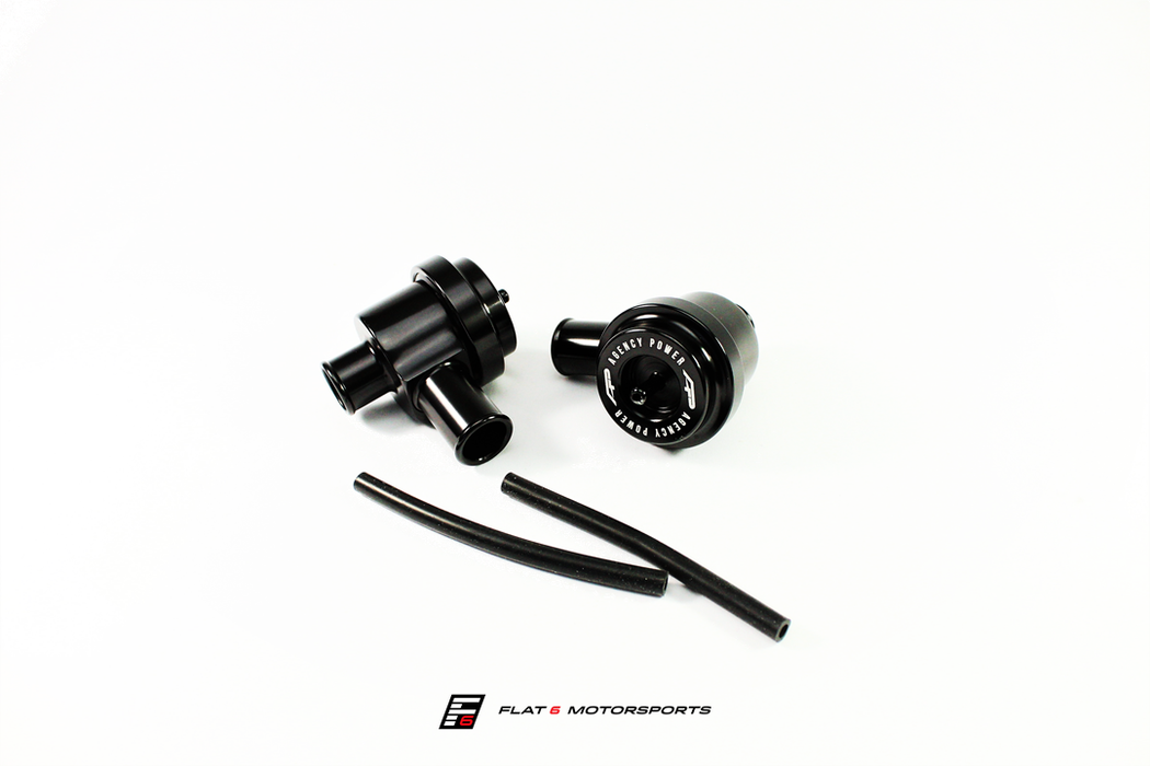 Agency Power Diverter Valve Pair (Panamera Turbo) - Flat 6 Motorsports - Porsche Aftermarket Specialists
