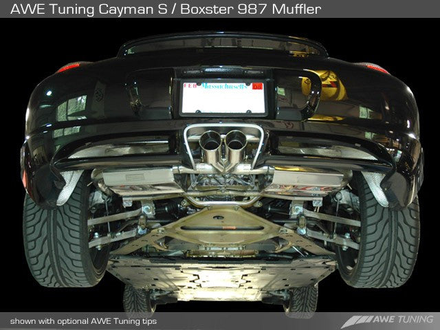 AWE Tuning Exhaust System (Cayman / Boxster 987.1) - Flat 6 Motorsports - Porsche Aftermarket Specialists