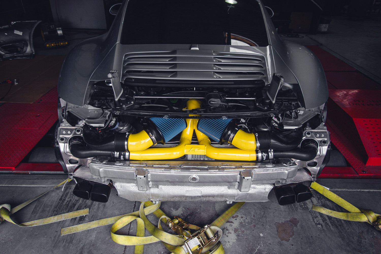 Agency power high flow y pipe 991 turbo