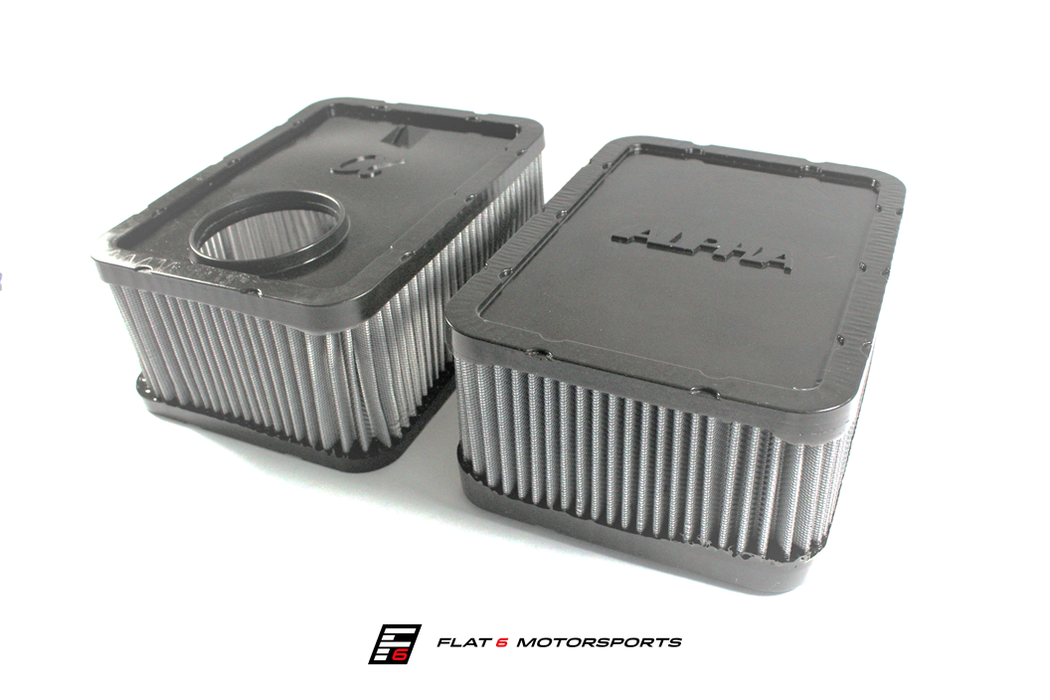 Alpha Performance (AMS) High-Flow Air Filter (Macan) - Flat 6 Motorsports - Porsche Aftermarket Specialists