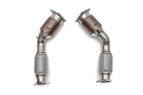 Fabspeed Sport Catalytic Converters (Cayenne Turbo 955)