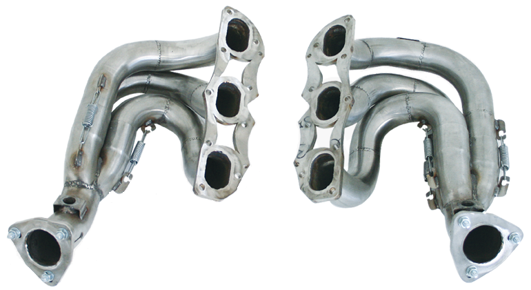 Cargraphic New Generation Long Tube Manifold Set Decatted (Cayman / Boxster 987.2) - Flat 6 Motorsports - Porsche Aftermarket Specialists