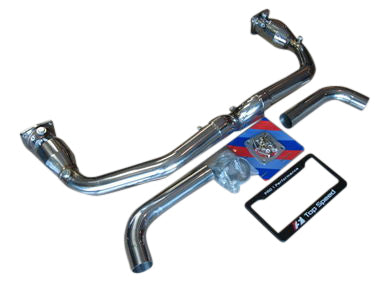 Top Speed Pro 1 X-Pipe Exhaust System (996 Turbo)