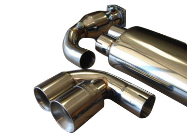 Top Speed Pro 1 Catback Exhaust System (997.2 Turbo)