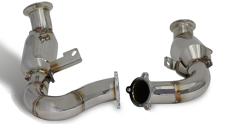 Cargraphic Sport Catalytic Converter Set (Macan)