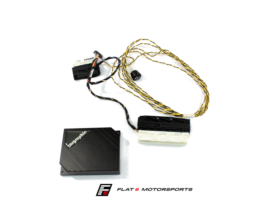 Cargraphic Electronic Suspension Lowering Module (Panamera w/ Air Suspension) - Flat 6 Motorsports - Porsche Aftermarket Specialists