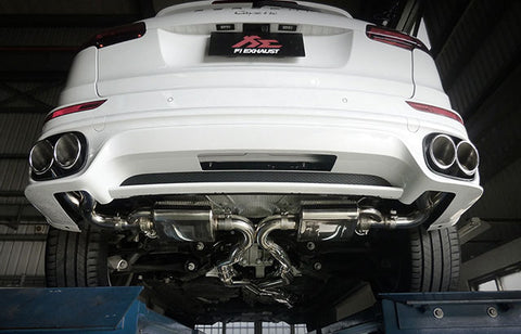 Frequency Intelligent Valvetronic Exhaust System (958.2 Cayenne S / GTS)