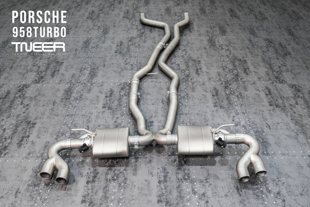 Tneer - Exhaust System (Cayenne 958 Turbo)