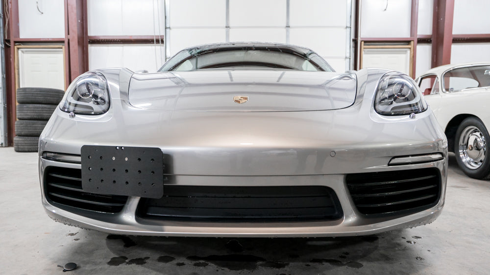 Raceseng Tug Plate - License Tag Relocator (Cayman / Boxster