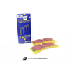 EBC Yellowstuff Ceramic Rear Brake Pads (Macan Turbo) - Flat 6 Motorsports - Porsche Aftermarket Specialists
