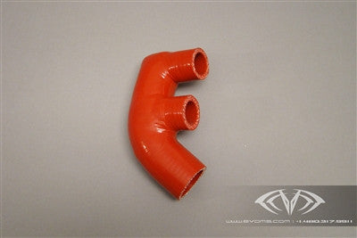 EVOMS Silicone F-Hose (996 Turbo) - Flat 6 Motorsports - Porsche Aftermarket Specialists