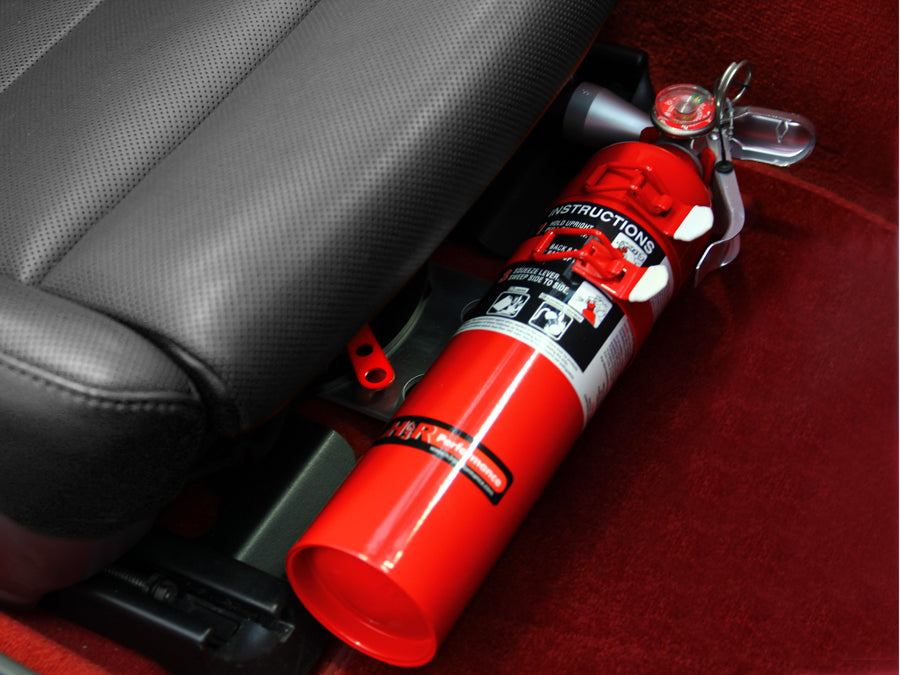 Rennline Fire Extinguisher Seat Mount (718)