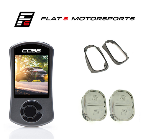 Flat 6 Motorsports - Stage 1+ Power Kit (Macan S / GTS / Turbo) - Flat 6 Motorsports - Porsche Aftermarket Specialists