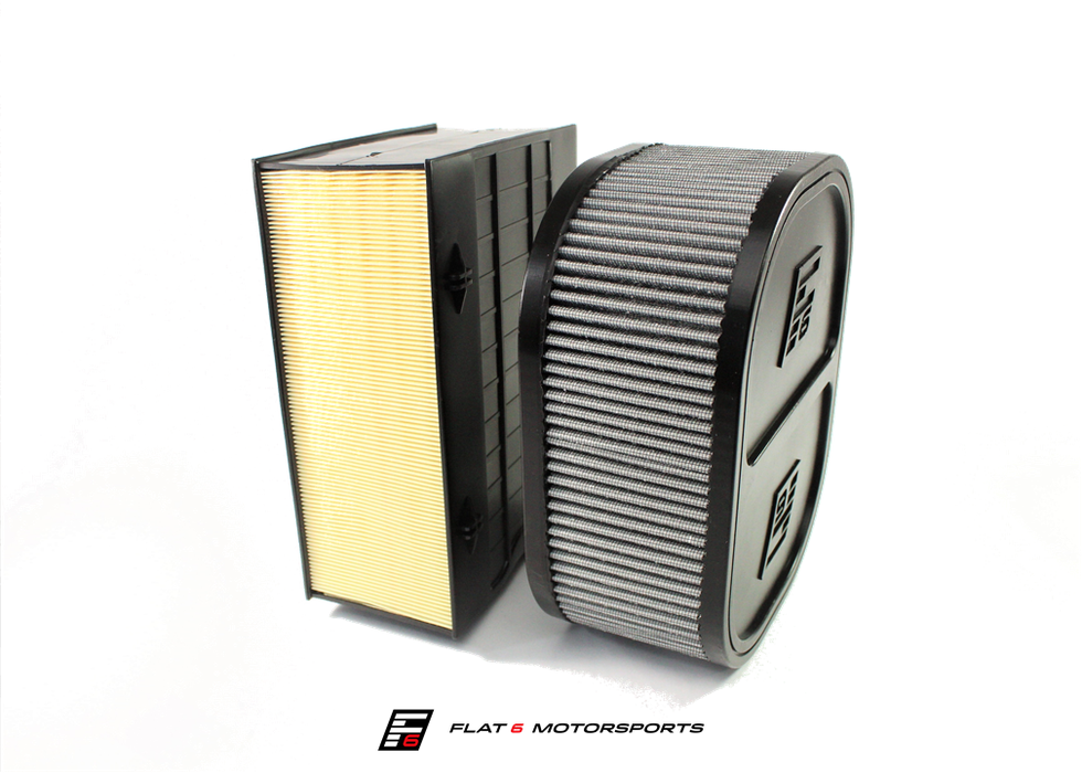 Flat 6 Motorsports High Flow Intake System (Macan) - Flat 6 Motorsports - Porsche Aftermarket Specialists