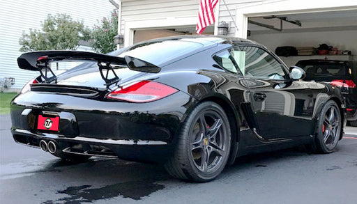 NR Auto - GT4 Style Wing (987 Cayman)