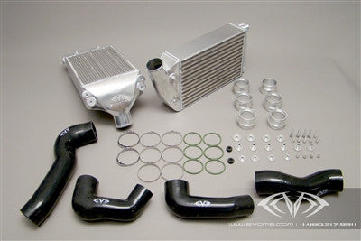 EVOMS Clubsport Intercooler Set (996 Turbo) - Flat 6 Motorsports - Porsche Aftermarket Specialists