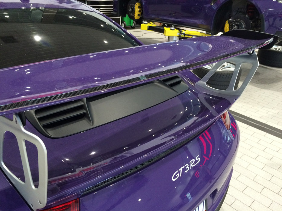 Dundon Motorsports Carbon Spoiler / Gourney Flap - 991 GT3-RS / GT2-RS
