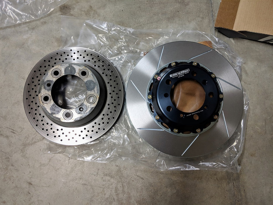 Flat 6 Motorsports - OEM Big Brake Conversion Kit (981 Cayman / Boxster)