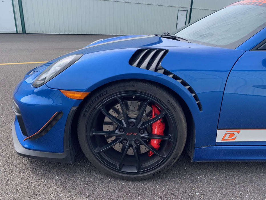 "Dundon Motorsports ""GT3-RS Style"" Vented Carbon Fiber Fenders - 981"
