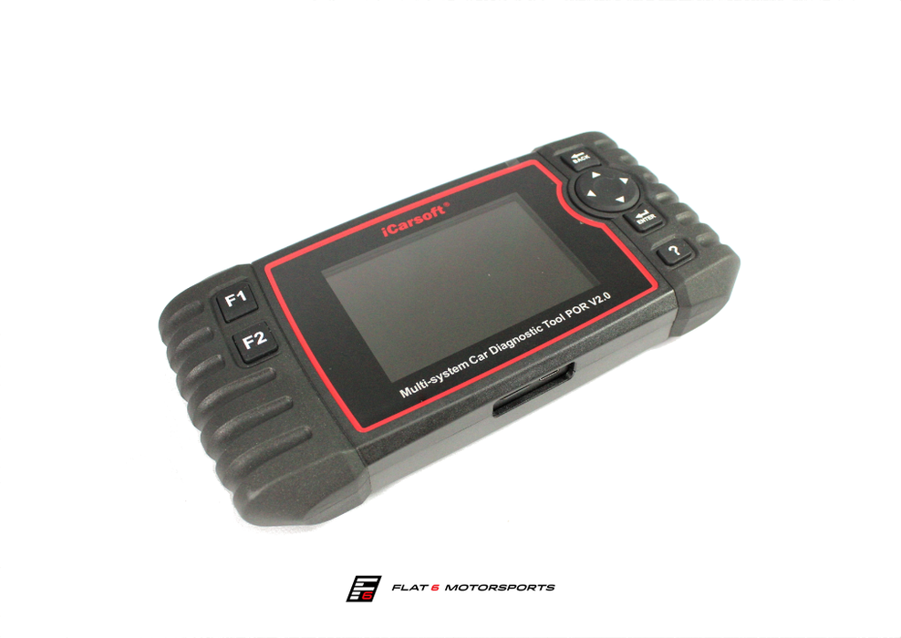 iCarsoft - POR V2.0 Oil Service Reset & Multi System Diagnostic Tool (991 911)