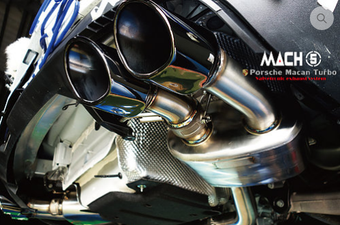 Mach 5 Performance Valvetronic Cat-Back Exhaust System (Macan) - Flat 6 Motorsports - Porsche Aftermarket Specialists
