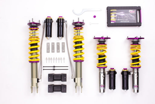 KW Clubsport 3-Way Coilovers (991 Carrera)