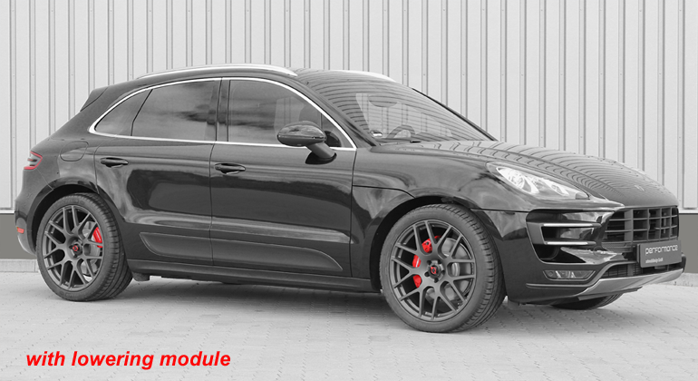 Cargraphic Electronic Suspension Lowering Module (Macan w/ Air Suspension) - Flat 6 Motorsports - Porsche Aftermarket Specialists