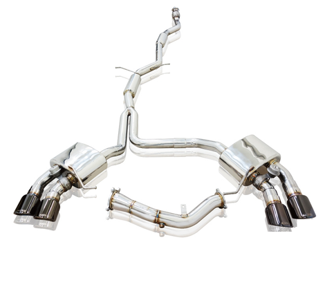 Mach 5 Performance Valvetronic Cat-Back Exhaust System (Macan 2.0T) - Flat 6 Motorsports - Porsche Aftermarket Specialists