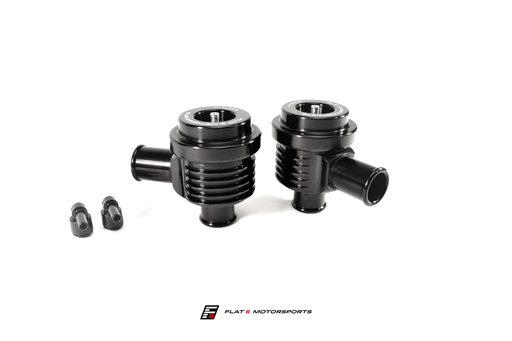 Flat 6 Motorsports by EVOMS - Performance Diverter Valves (991.2 Carrera)