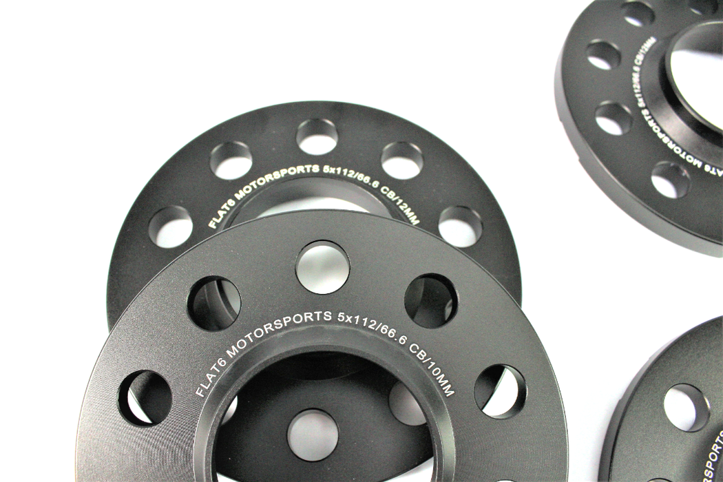 Flat 6 Motorsports - Wheel Spacer Kit with Bolts 10mm/12mm (Macan)