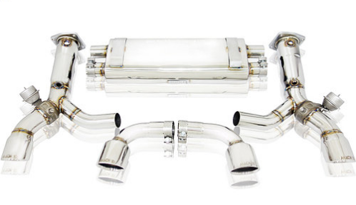 Mach 5 Performance Valvetronic Cat-Back Exhaust System (997.1 Turbo) - Flat 6 Motorsports - Porsche Aftermarket Specialists