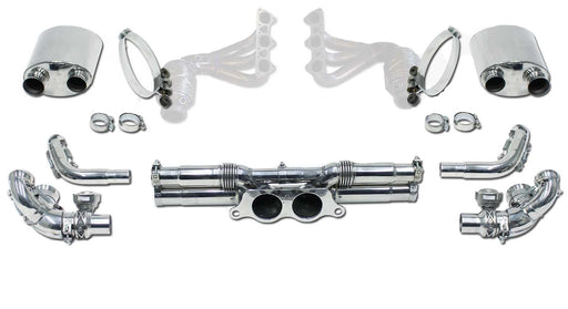 Cargraphic Catback Lightweight Exhaust Kit (991 GT3)