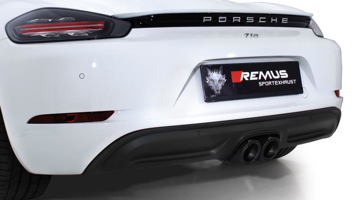 Remus Sport Exhaust System (718 Cayman / Boxster) - Flat 6 Motorsports - Porsche Aftermarket Specialists
