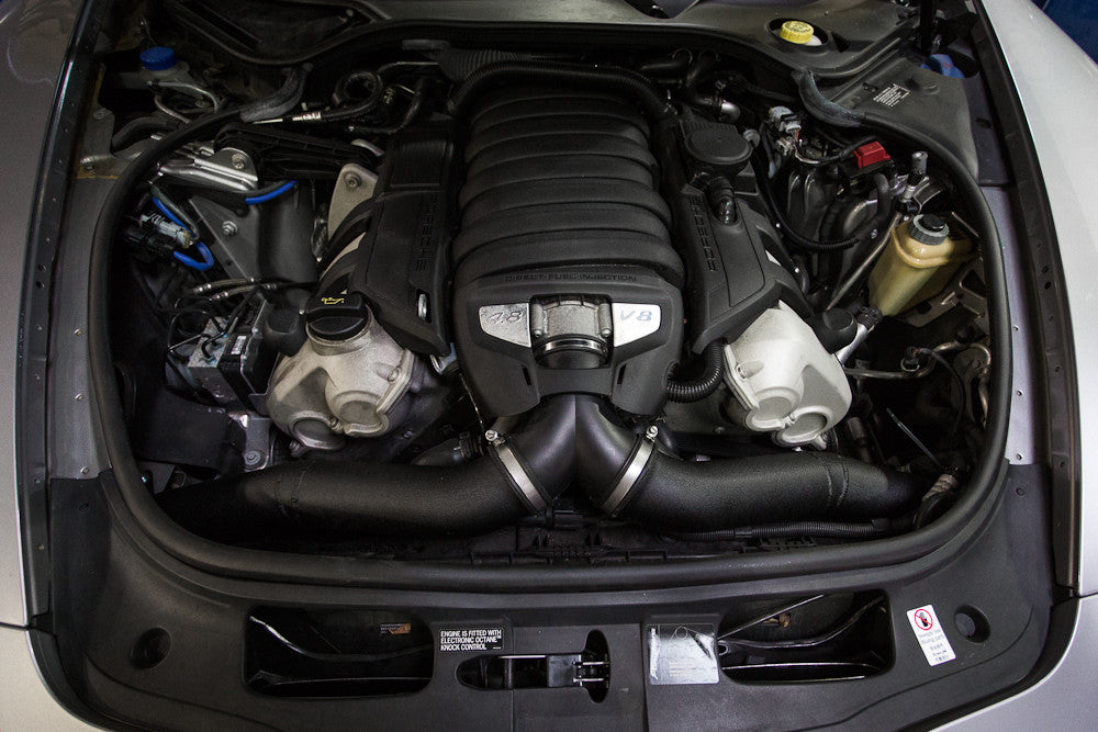 Agency Power Cold Air Intake Kit (Panamera S V8) - Flat 6 Motorsports - Porsche Aftermarket Specialists