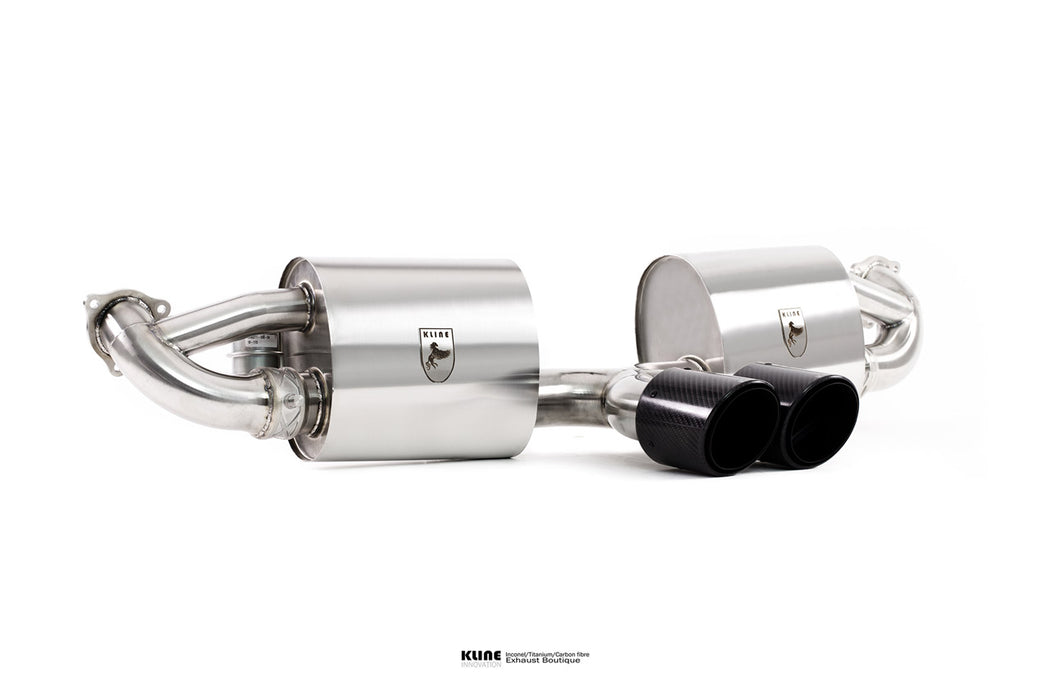 Kline Innovation Valvetronic Cat Back Exhaust (718 Cayman / Boxster)