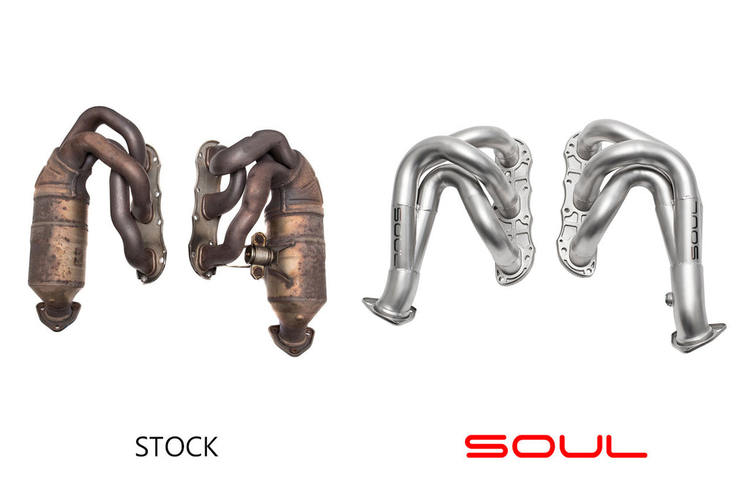 Soul Performance Products - Competition Headers (987.2 Cayman / Boxster) - Flat 6 Motorsports - Porsche Aftermarket Specialists