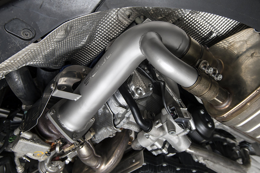 Soul Performance Products - Cat Bypass Pipes (991.2 Carrera w/PSE) - Flat 6 Motorsports - Porsche Aftermarket Specialists