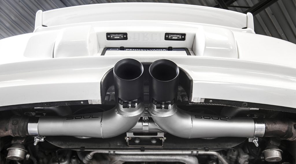 Soul Performance Products - Center Muffler Bypass (997 GT3) - Flat 6 Motorsports - Porsche Aftermarket Specialists