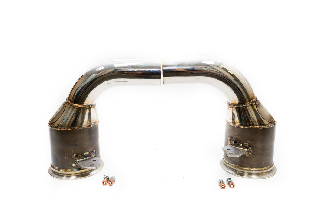 Fabspeed Sport Catalytic Downpipes (992 Carrera)