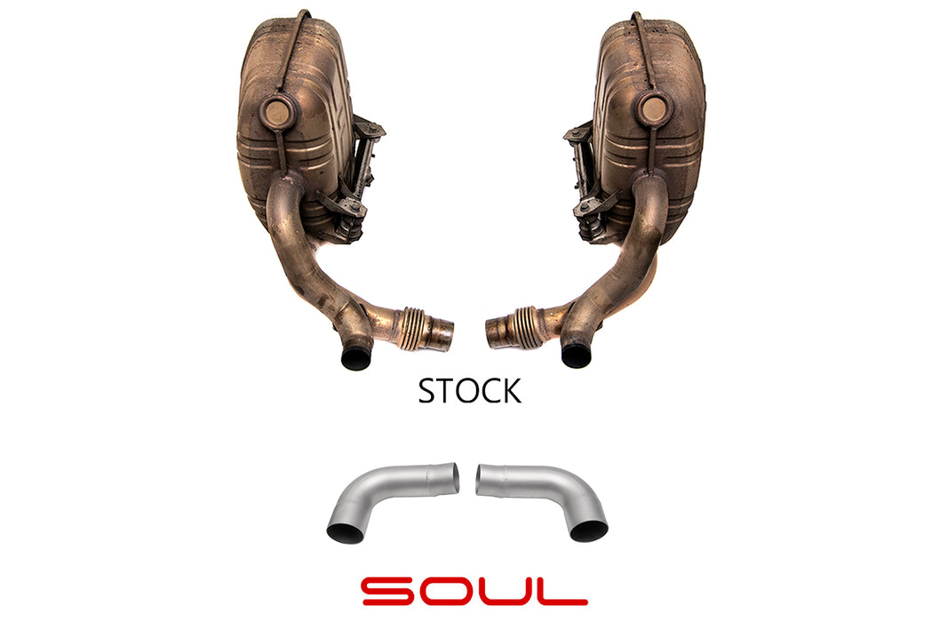Soul Performance Products - Muffler Bypass Pipes (997.1 Carrera)