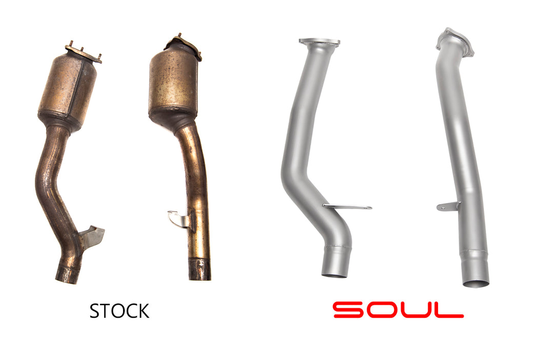 Soul Performance Products - Secondary Cat Bypass Pipes (958 Cayenne)