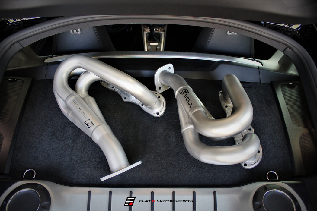 Soul Performance Products - Competition Headers (Cayman / Boxster 981)