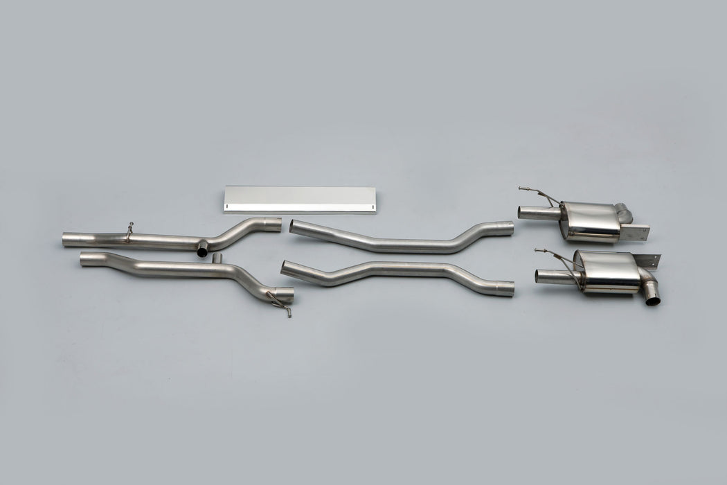 Milltek Cat-Back Exhaust System (Cayenne S / Turbo 955