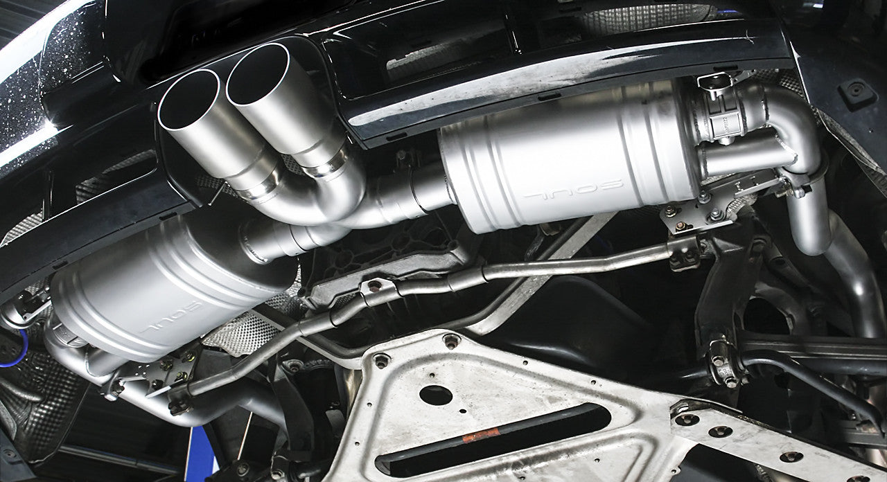 Soul Performance Products - Valved Exhaust System (987.2 Cayman / Boxster) - Flat 6 Motorsports - Porsche Aftermarket Specialists