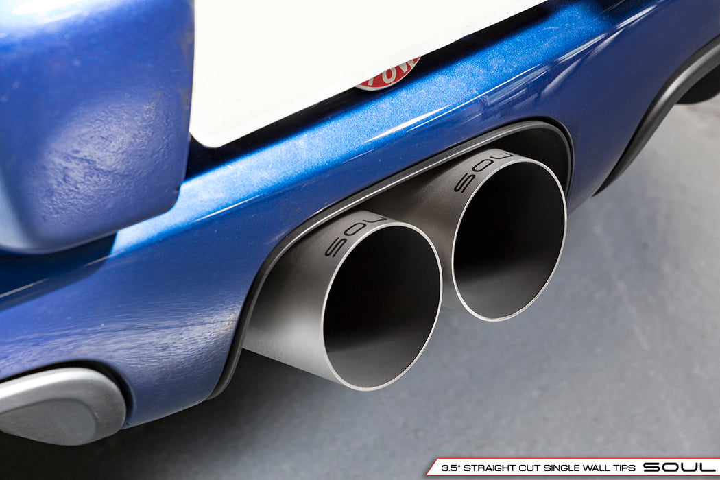 Soul Performance Products - Bolt-On X-Pipe With Tips (Cayman / Boxster 718)