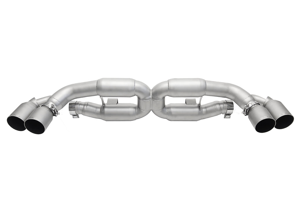 Soul Performance Products - X-Pipe Exhaust (991 Turbo) - Flat 6 Motorsports - Porsche Aftermarket Specialists