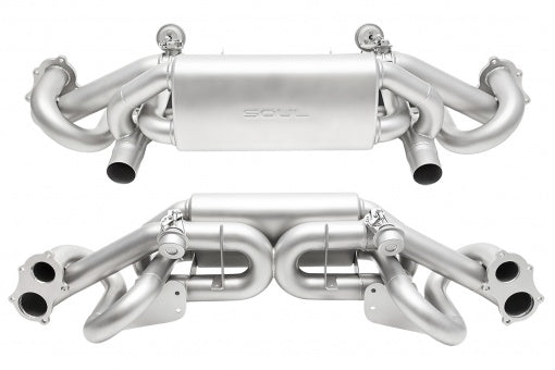 Soul Performance Products - Valved Performance Exhaust System (718 GT4)