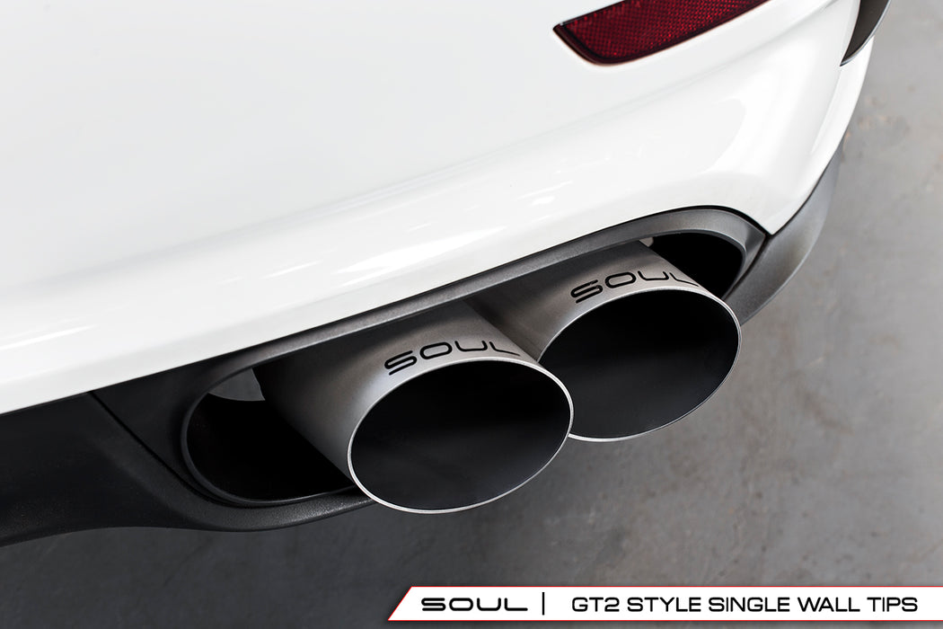 Soul Performance Products - Sport X-Pipe Exhaust System (991 Turbo) - Flat 6 Motorsports - Porsche Aftermarket Specialists